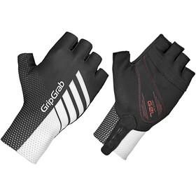 GripGrab Aero TT Raceday Short Finger Gloves black/white